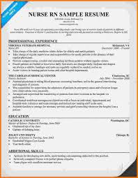 registered nurse cover letter