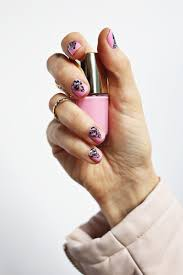 use nail wraps to create a geometric nail design u2013 a beautiful mess