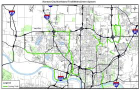 Kansas City Map Northland Trail Map The Line Creek Loudmouth