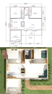 2nd Floor House Plan by Baldwin Modular Cape House Plans
