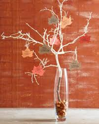 easy thanksgiving centerpieces thankful tree centerpieces and
