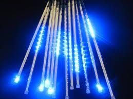 drop lights set of 12 sided 14 blue