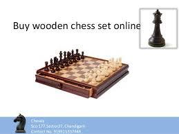 buy chess set buy wooden chess set online ppt