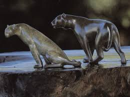 mountain lion statue sculptor loet vanderveen all sculptures for sale and exle