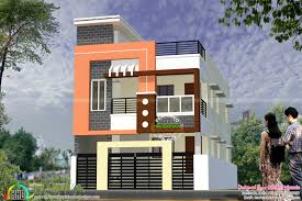 900 Sq Ft House Plans by Modern South Indian Home Design 1900 Sq Ft Kerala Home Design