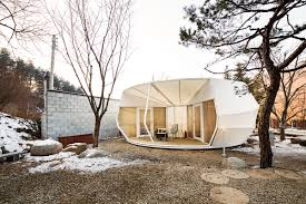 Permanent Tent Cabins Prefabricated Glamping Tents By Archiworkshop Archpaper Com