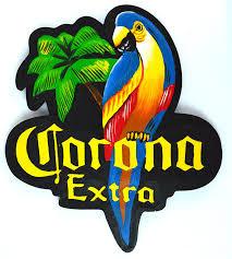 amazon com corona beer surfboard wooden wall hanging tiki bar