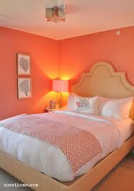 Best Coralmy New Favorite Color Images On Pinterest Home - Coral color bedroom