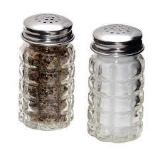 salt and pepper shakers amazon com retro style salt and pepper shakers with stainless tops