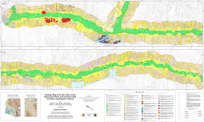 Map Of Yuma Arizona by The Arizona Geological Survey Online Publications