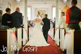 Pew Decorations For Wedding Diy Wedding Ceremony Decorations