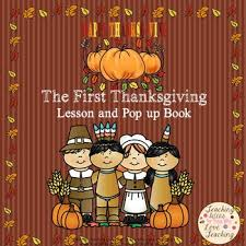 thanksgiving lesson and pop up book subjects social