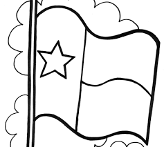 Texas Flag Pledge Texas Flag Coloring Page Printable In Coloring Pages