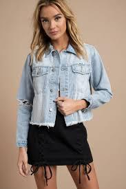 light blue cropped jean jacket rolla s slouch light wash cropped distressed denim jacket 120