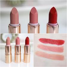 charlotte tilbury k i s s i n g mini lipstick charms review