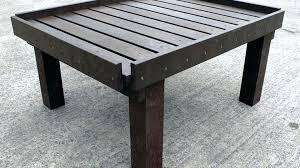 how to make an outdoor table making a garden bench from pallets pallets garden furniture how to