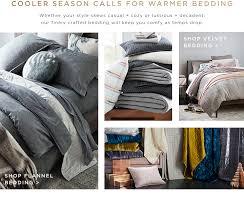 modern bedding west elm