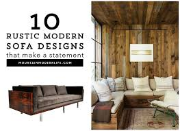 Furniture Rustic Modern by Innovation Ideas Rustic Modern Furniture Design Sofa Designs