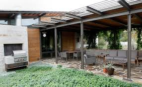 Building A Guest House In Your Backyard Spaces Leon Springs House On A Hill Is Airy Eco Friendly San
