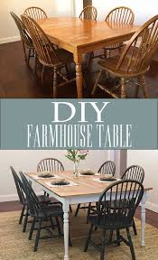 Farm Table Dining Room by Best 10 Dining Table Redo Ideas On Pinterest Dining Table
