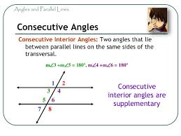Same Side Interior Angles Definition Geometry Math 7 Geometry 04 Angles Parallel Lines And Transversals Grade U2026