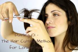 different ways to cut the ends of your hair dusting 101 the beter way to cut your hair and prevent split