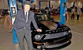 rider mustang caroll shelby of the shelby cobra and shelby mustang dies