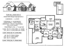how many square feet is a 1 car garage 3 bedrooms 1701 2250 square feet