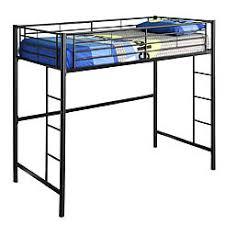 metal loft bed desk