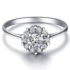 real diamond rings images Heart jewelry real diamond ring in 18k white gold fashion design jpg