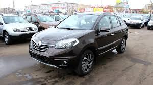 renault koleos 2016 black 2013 renault koleos start up engine and in depth tour youtube