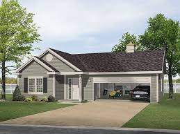 2 story garage plans with apartments two story garage apartment craftsman exterior tampa eplans