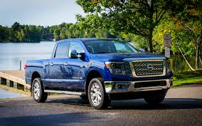 old nissan truck 2016 nissan titan xd crew cab in search of the mighty muskellunge