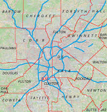 Map Of Midtown Atlanta by Ben Hill Atlanta Wikipedia