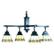 Stained Glass Light Fixtures Dining Room Style Stained Glass Mission Chandelier Dining Room Light
