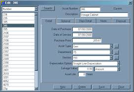 Fixed Asset Register Excel Template Fixed Asset Depreciation Software Free