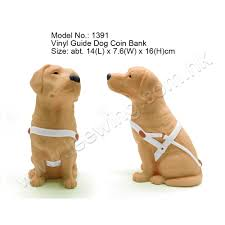 labrador retrievers guide dog plastic coin bank buy coin bank