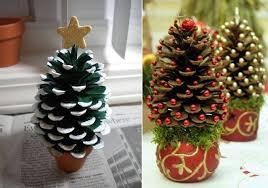 Homemade Christmas Tree Decorations Mini Christmas Trees Diy Alldaychic
