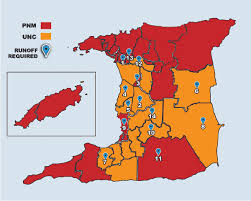 Map Of Trinidad How Runoff Rules Would Have Impacted 2007 Polls The Trinidad