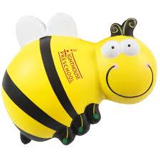 objet anti stress bureau anti stress abeille zoom objets publicitaires personnalisés