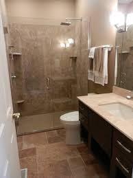 Bathroom  Creative Open Shower Small Bathroom Interior Design - Open shower bathroom design