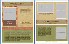 ms word brochure template free ms word real estate flyer template formal word templates