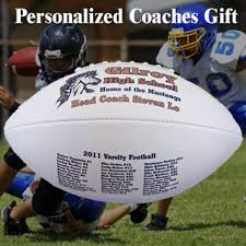 engraved football gifts custom personalized football coach gift personalized coach gifts