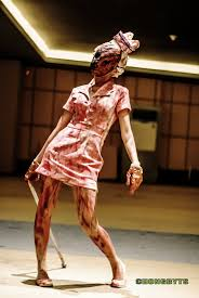 Silent Hill Nurse Halloween Costume Pin Laurie Kitteria Deviant Nurses Silent Hill