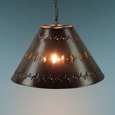 Punched Tin Pendant Light Small Punched Tin Hanging L Shade
