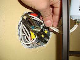 Electrical Box For Wall Sconce How To Install A Wall Light Fixture