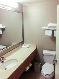 Bathroom Grants Clean Orderly Bathroom Picture Of Holiday Inn Express Grants