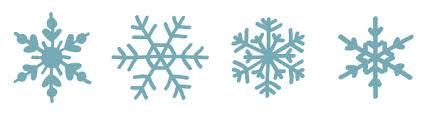 8 free hand drawn vector snowflakes