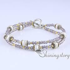 pearl bracelet elastic images Freshwater pearl bracelet pearl stretch toggle bracelets with jpg