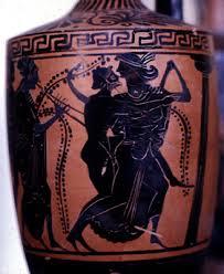 Greek Black Figure Vase Painting Greece Black Figure Satyr Vase Antiquities Period Pinterest